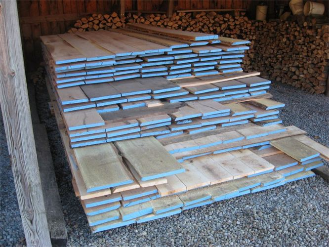 Milled Oak, pine and locust in Honeoye, NY