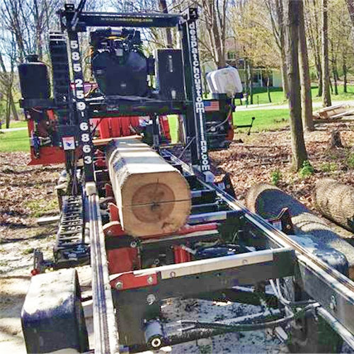 On-site tree milling service, Rochester NY